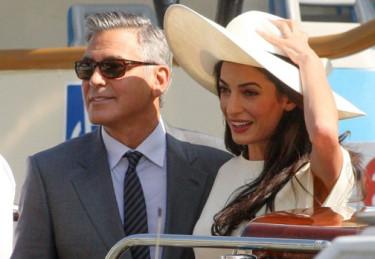 Clooney i Alamuddin wezmą dzisiaj DRUGI ŚLUB? (ZDJĘCIA)