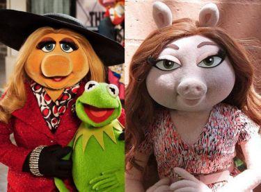 Z OSTATNIEJ CHWILI: Kermit Żaba ma nową, chudszą dziewczynę! (ZDJĘCIA)