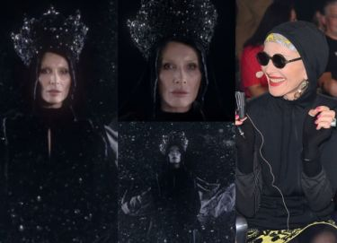 Kora jako Czarna Madonna w teledysku Organka!