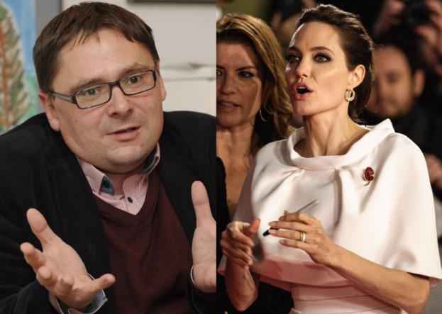 """Terlikowski o Jolie: """"Kiedy jej mąż wyrazi radość, że żona prewencyjnie dokonała AMPUTACJI MÓZGU?"""""""