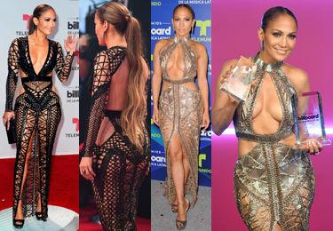 47-letnia Jennifer Lopez KUSI DEKOLTEM w dwóch seksownych sukienkach!