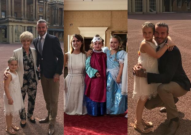 Córka Victorii Beckham miała urodzinowy bal w... PAŁACU BUCKINGHAM!