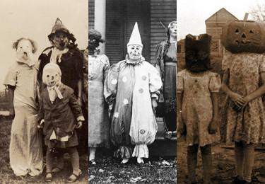 STARE ZDJĘCIA: Straszne kostiumy na Halloween...