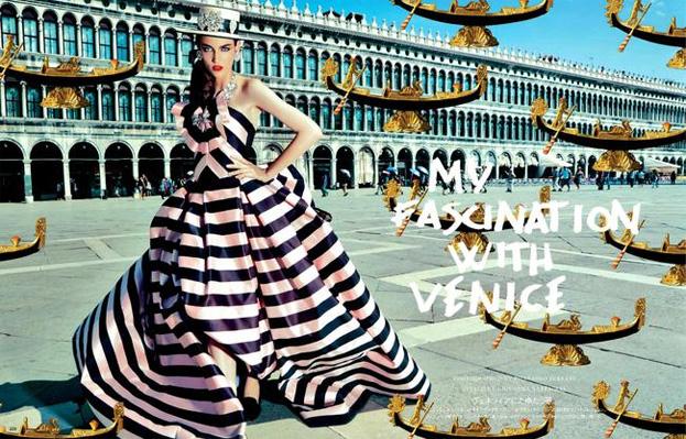 KOLOROWA SESJA Zuzanny Bijoch w Wenecji!