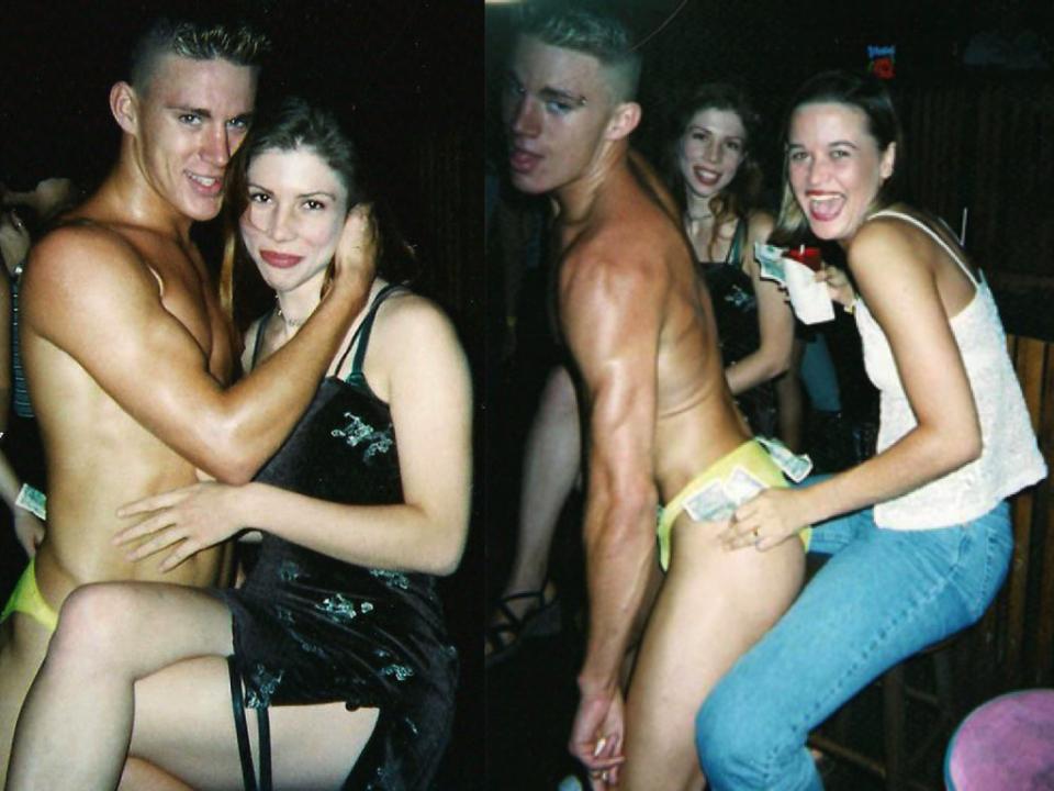 Channing tatum stripper chan crawford
