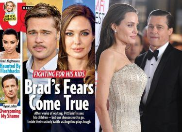 """""""Angelina i Brad nie mają ze sobą żadnego kontaktu. Rozmawiają przez prawników"""""""