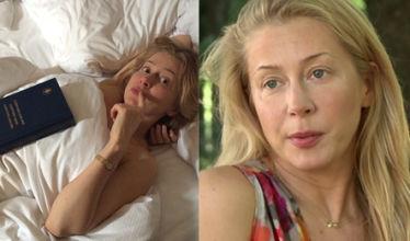"""Aktorka pozuje z Biblią w łóżku: """"To nie jest negliż! Jestem wielbicielką Nowego Testamentu"""""""