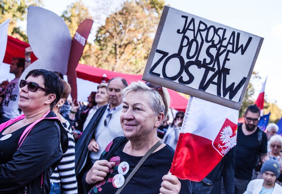 Zobaczcie, co się działo na marszu KOD-u w Warszawie