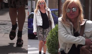 Monika Olejnik w za małych butach?