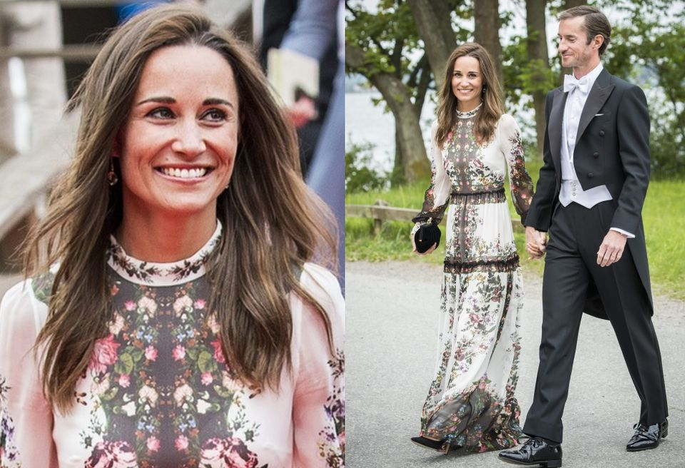 Pippa Middleton i James Matthews w Sztokholmie