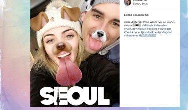 Misiek zabrał Marcelę do... Korei Południowej (FOTO)