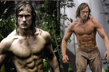 Umięśniony Alexander Skarsgård jako Tarzan (ZDJĘCIA)