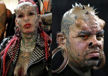 Tak wyglądają uczestnicy Venezuela Tattoo Expo... (ZDJĘCIA)