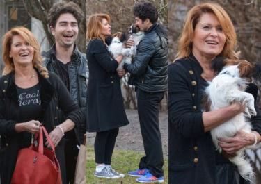 Kasprzyk i Kliment po treningu… wyprowadzają psy (ZDJĘCIA)