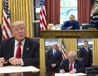 Trump już zmienia wystrój Białego Domu. Usunął popiersie Martina Luthera Kinga