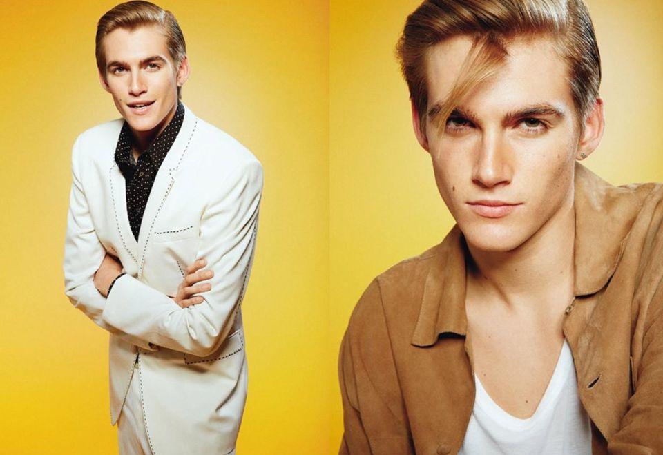 "Presley Gerber w ""L'uomo Vogue"""