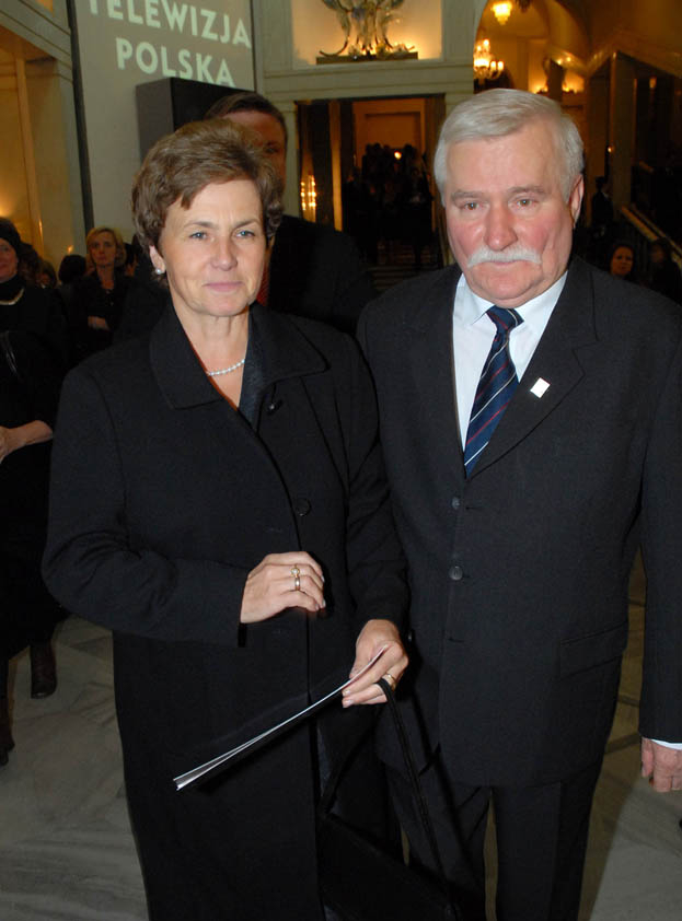 Była żona Wałęsy: