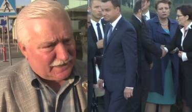 """Wałęsa: """"To prezydent powinien wyciągnąć rękę do Kopacz!"""""""