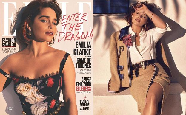 """Emilia Clarke w słonecznej sesji dla """"Elle"""""""