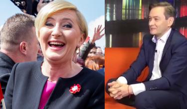 """Biedroń o pensji Agaty Dudy: """"To dobry pomysł. Polskę na to stać. Nie ma szans pracować na etat!"""""""