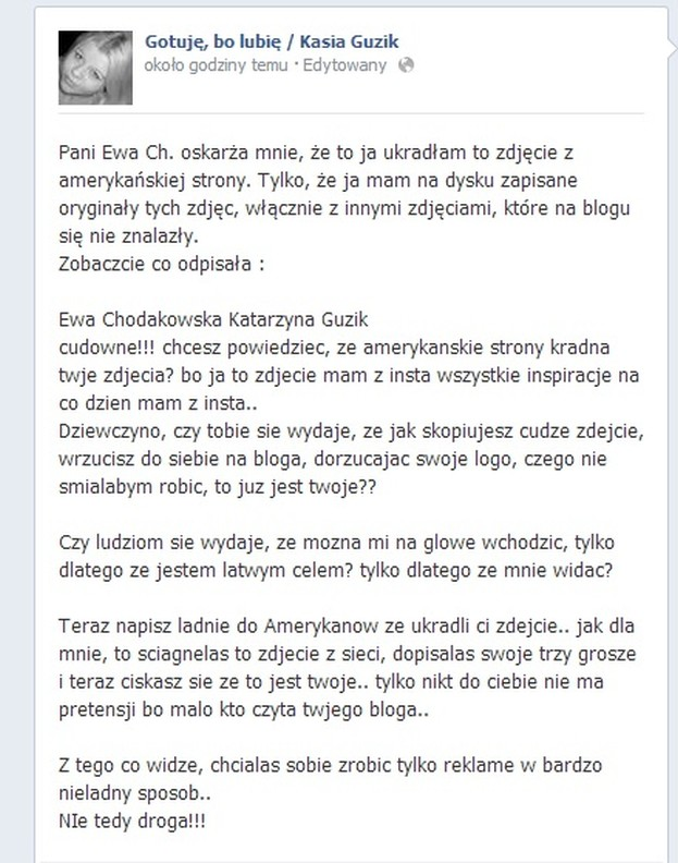 Chodakowska UKRADŁA ZDJĘCIE?!