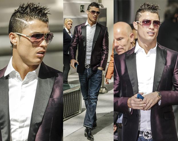 NOWA fryzura Cristiano Ronaldo! (ZDJĘCIA)