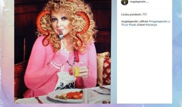 Magda Gessler prawie jak diabeł (FOTO)