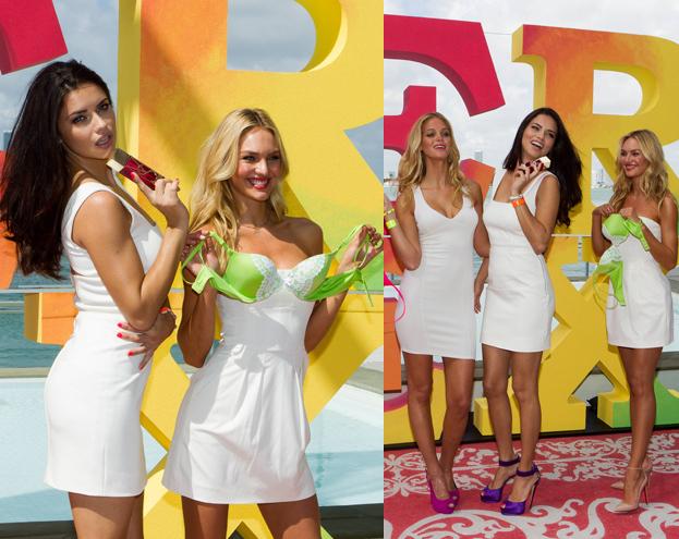 Aniołki Victoria's Secret na wiosnę (ZDJĘCIA)