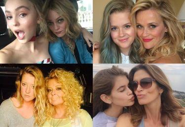 Najbardziej podobne mamy i córki w show biznesie! (ZDJĘCIA)