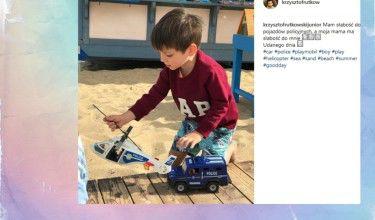 """Syn Rutkowskiego: """"Moja mama ma słabość do mnie"""" (FOTO)"""