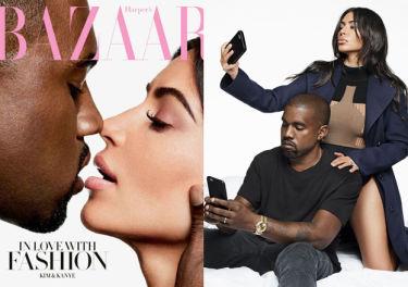 """Kanye West o Kim: """"Kocham jej nagie selfie! Robiłem dobre zdjęcia swojego fiuta!"""""""