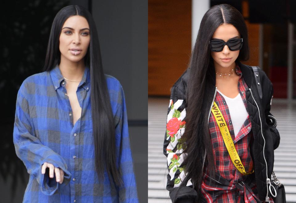 "Natalia Siwiec w peruce ""na Kim Kardashian"""
