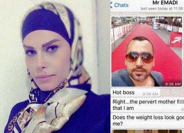 Irańska dziennikarka MUSIAŁA UCIEC Z KRAJU, bo... ujawniła, że była molestowana przez szefa!
