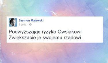 Szymon Majewski reaguje na problemy festiwalu Woodstock