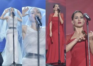Steczkowska na scenie: biała czy czerwona? (ZDJĘCIA)