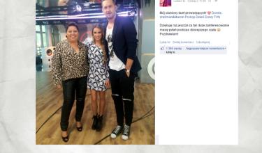 Maffashion chwali się wizytą w TVN