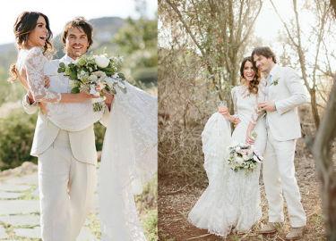Nikki Reed i Ian Somerhalder opublikowali fotki ze ślubu (GALERIA)