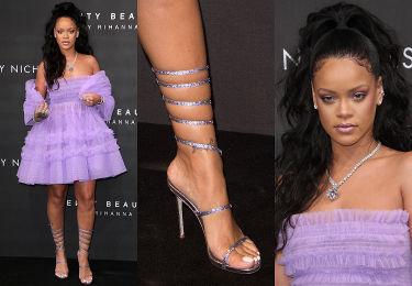 Rihanna jako balerina i jej łydka jako baleron (ZDJĘCIA)