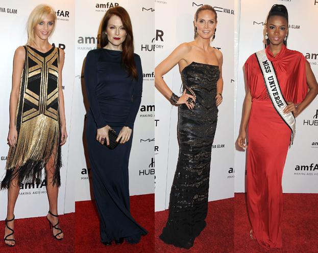 Anja Rubik na imprezie z Moore, Klum i Miss Universe (FOTO)