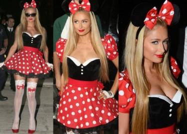 Paris Hilton przebrana za Myszkę Miki (ZDJĘCIA)