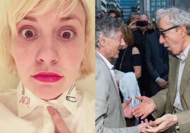 Lena Dunham szczerze o Woodym Allenie: