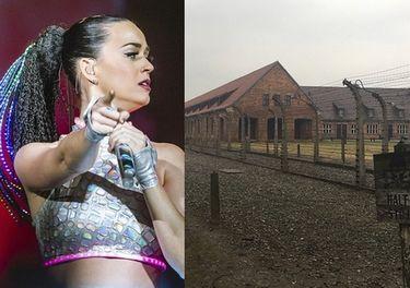 Katy Perry odwiedziła Auschwitz (FOTO)