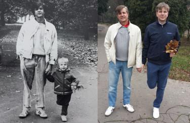 Filip Chajzer pokazał fotkę z dzieciństwa